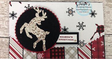 IDEAS Blog Hop-Celebrating Sale-a-Bration Peaceful Deer August 21